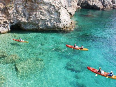 Zee Kajakken Dubrovnik Kroatië