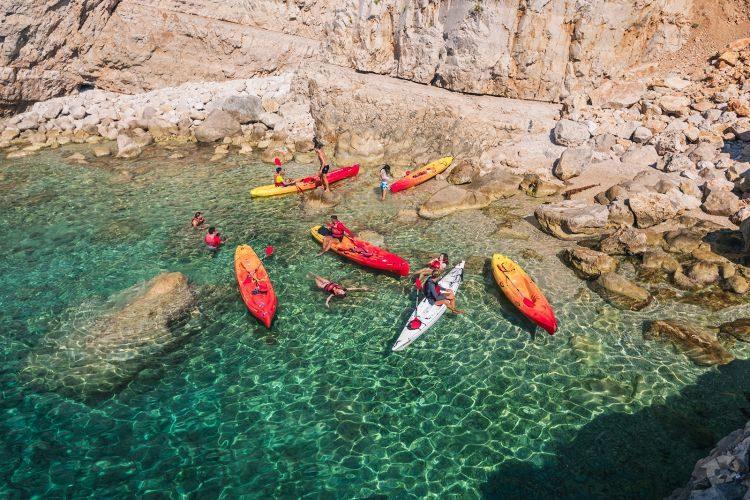 Zeekajakken Dubrovnik Kroatië