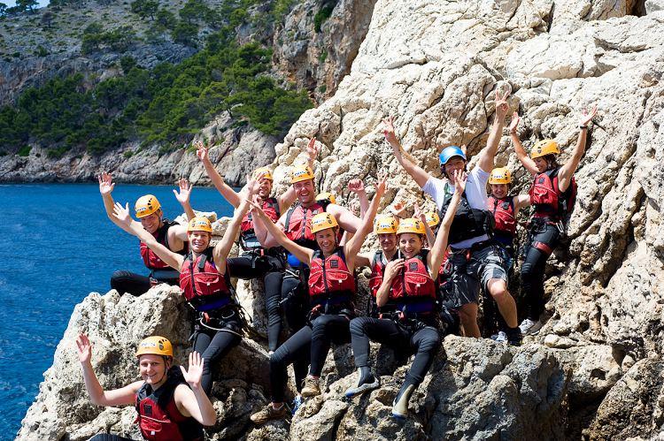 Halve dag Coasteering Mallorca Spanje