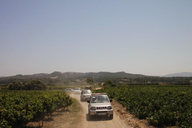 1 dag Jeep Safari Rhodos Griekenland