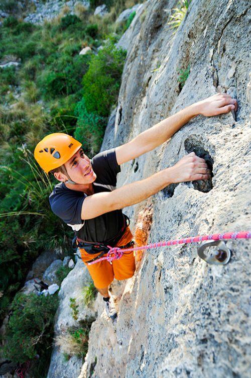 Halve dag Rock Climbing Mallorca Spanje
