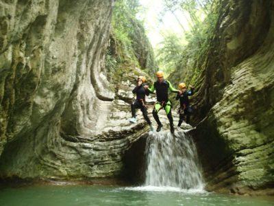 Gumpenfever - Basic Canyoning - Tremosine Garda Meer - Italië