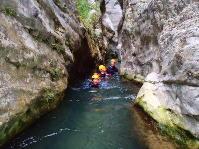 Family Fun - Basic Canyoning - Tremosine Garda Meer - Italië