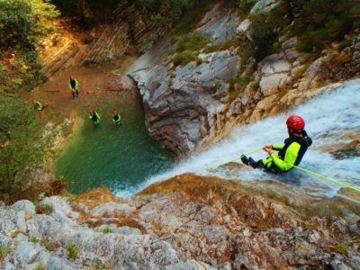 Vione - Advanced Canyoning - Tremosine Garda Meer - Italië