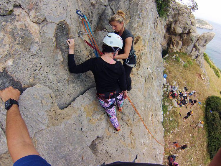 1 dag Rock Climbing Rhodos Griekenland
