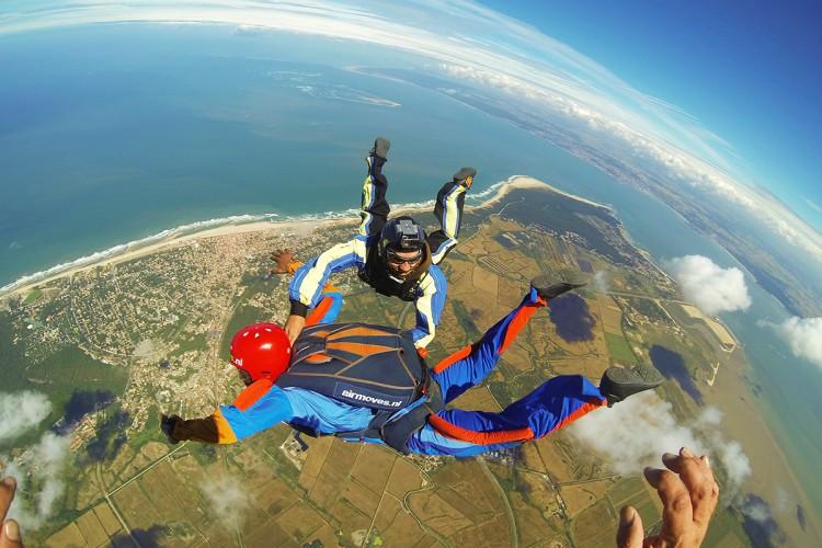1 week AFF Skydive opleiding in Soulac sur Mer Frankrijk