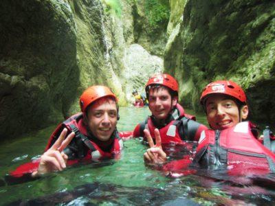 2 uur canyoning Idromeer Storo Trentino Italië