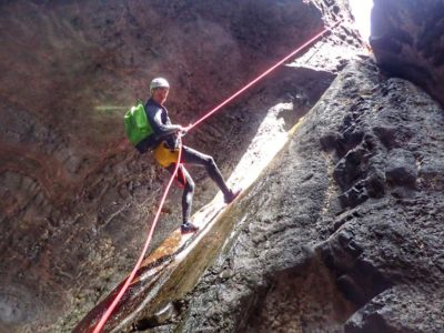Canyoning Teno Nationaal Park Tenerife