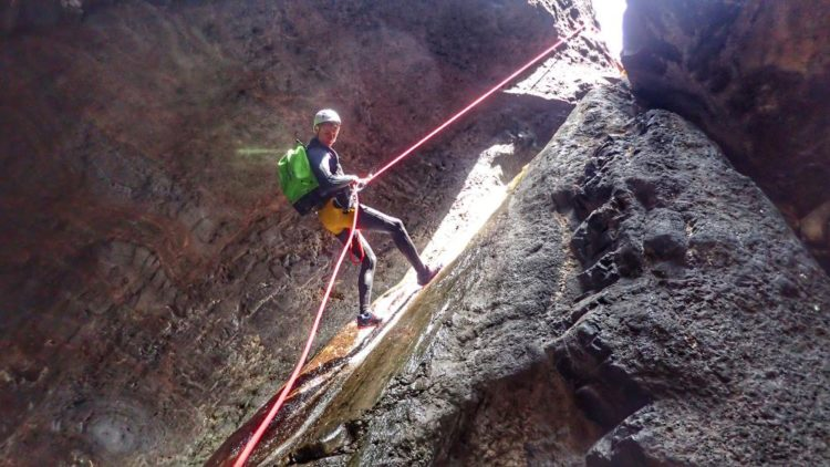 Canyoning Teno Nationaal Park Tenerife
