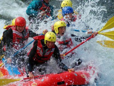 3 uur basic rafting tocht Dagali Geilo Noorwegen