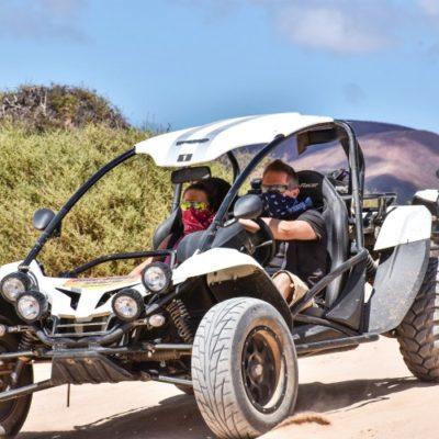 3 uur off road buggy excursie Corralejo Fuerteventura Spanje