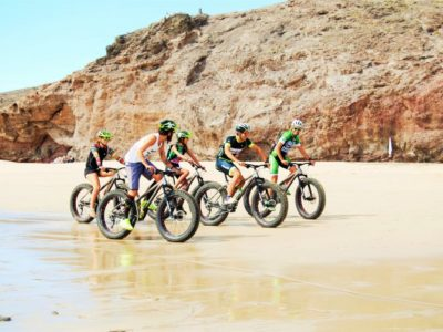 Fat Bike Tocht Lanzarote Spanje