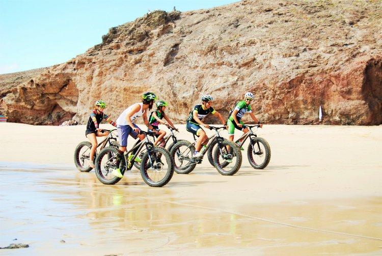 3 uur Fat Bike Tocht Lanzarote Spanje