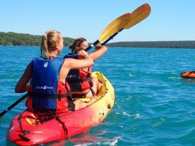 8 uur quad rijden en zee kajakken Barban Istrië Kroatië