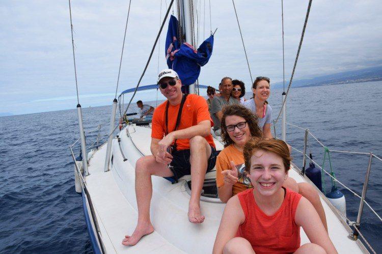 3 uur zeilen en walvissen spotten Costa Adeje Tenerife