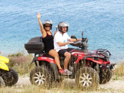8 uur quad excursie Barban Istrië Kroatië