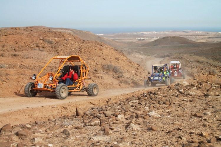 4 uur buggy excursie Costa Calma Fuerteventura