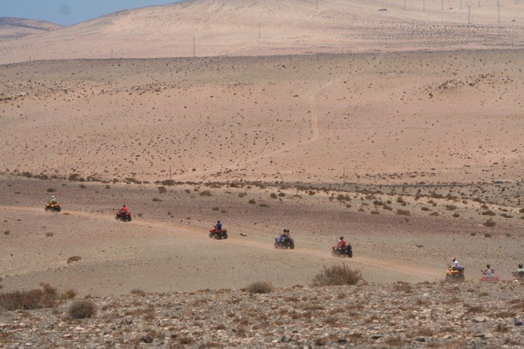 4 uur quad safari Costa Calma Fuerteventura