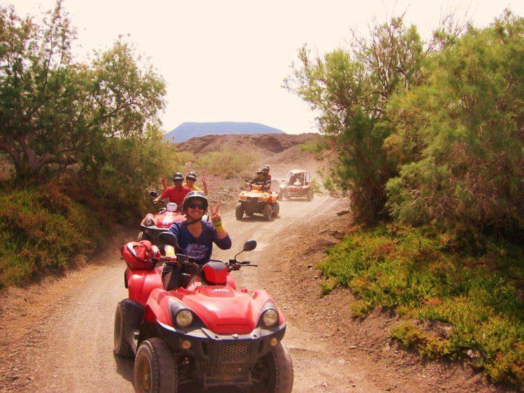4 uur quad excursie Costa Calma Fuerteventura