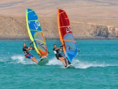 3 uur windsurf introductie Costa Calma Fuerteventura