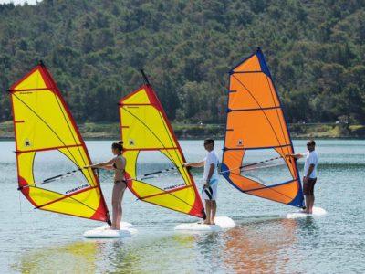 5 uur cursus voor gevorderden windsurfen Pula Kroatië