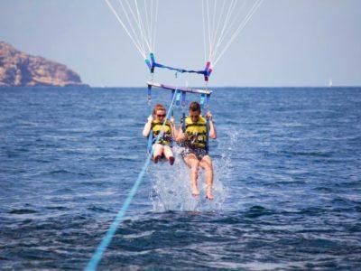 2 uur parasailing San Antonio Ibiza Spanje