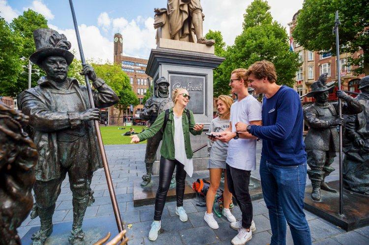 City Challenge Amsterdam - Interactief spel in hartje Amsterdam