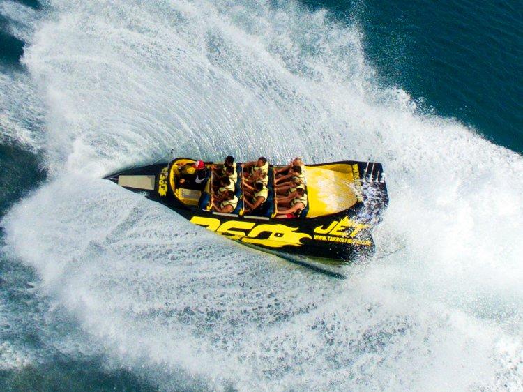 Half uur Jetboat San Antonio Ibiza Spanje