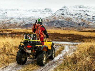 4 uur quad excursie Quad Mad Reykjavik IJsland