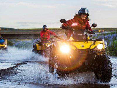 3 uur quad excursie Twin Peaks Reykjavik IJsland