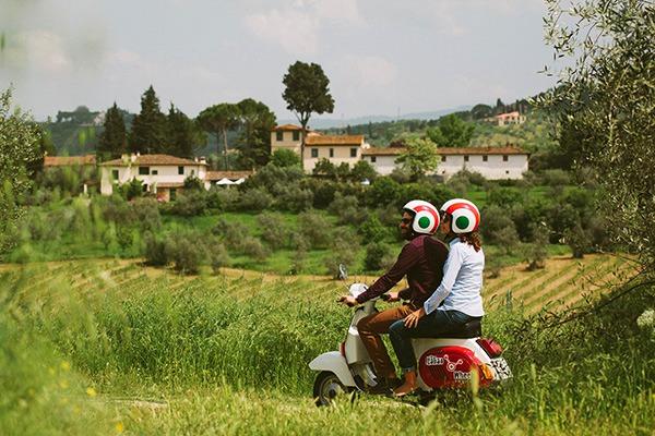 4 uur vintage Vespa excursie Florence Toscane Italië