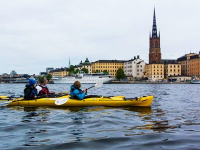 2 uur kajakken door Stockholm Zweden