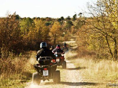 3 uur quad rijden Barban Istrië Kroatië