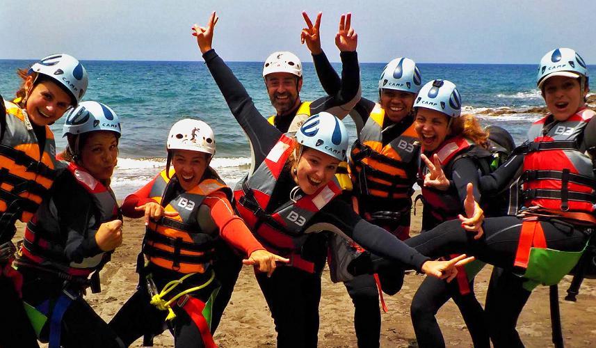 coasteering Mogan Gran Canaria Spanje