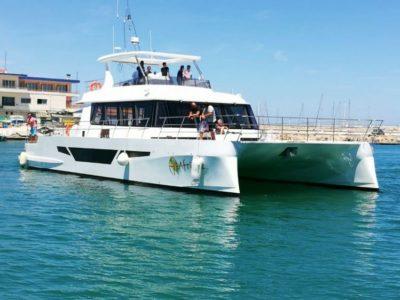 5 uur catamaran varen Puerto Rico Gran Canaria