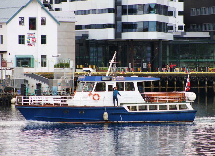 5 uur Fjord Cruise Tromsø Noorwegen