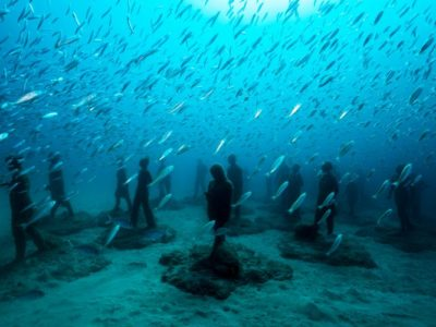 Duiken bij Museo Atlantico Playa Blanca Lanzarote