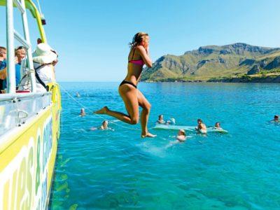 3 uur boottocht langs de kust, baaien en grotten in Mallorca