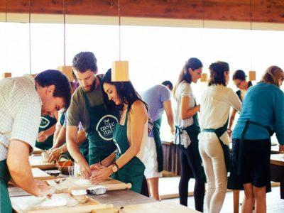 Kook cursus op een boerderij in Toscane Italië