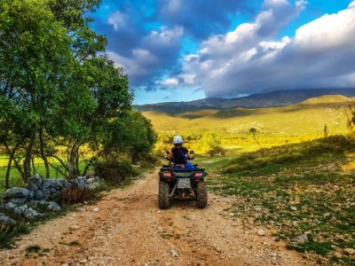 Quad excursie door de bergen Dalmatië Kroatië