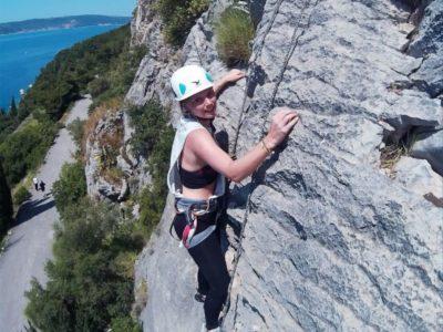 3 uur rots klimmen Split Kroatië
