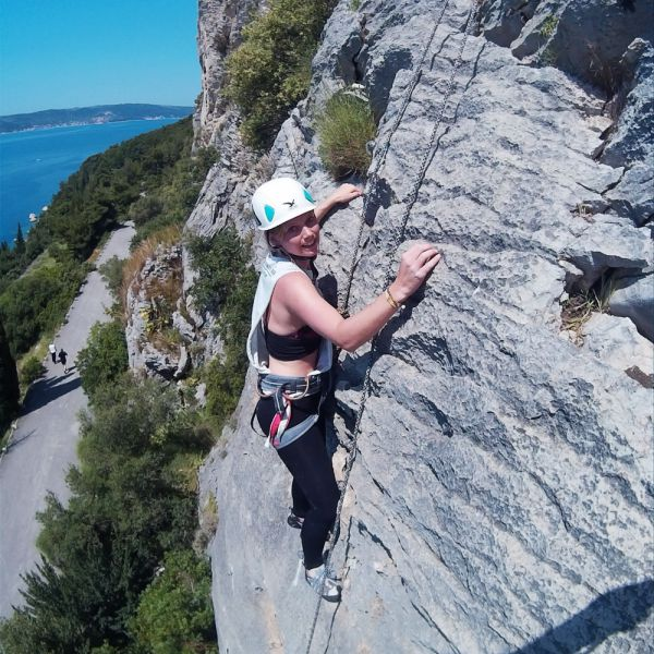 3 uur rots klimmen Split Kroatië cover