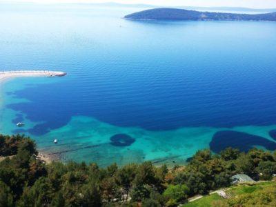 wandeltocht met gids door Marjan hill park Split Kroatië