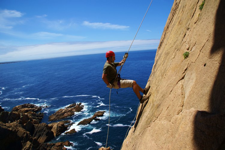 abseilen Cabo da Roca Lissabon Portugal
