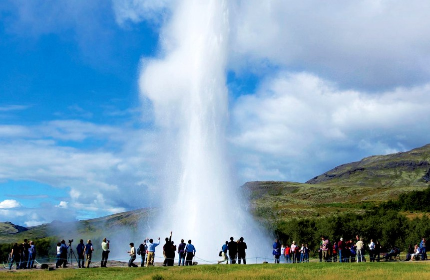 Bus excursie The Golden Circle Reykjavik IJsland
