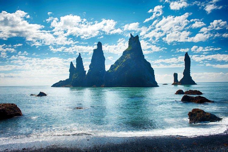 South tour per minibus Reykjavik IJsland