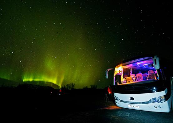Bus tour - Noorderlicht Tour Reykjavik IJsland