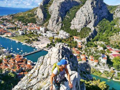 Via Ferrata tour Omis Kroatië