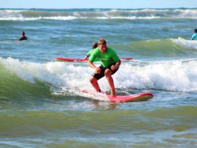 Beginner surfles Katwijk