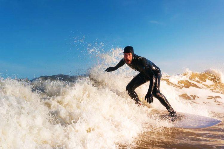 Beginner surfles Zandvoort